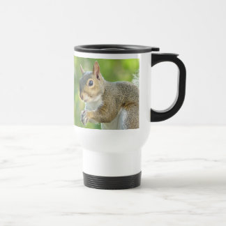 Close Up Squirrel Travel Mug