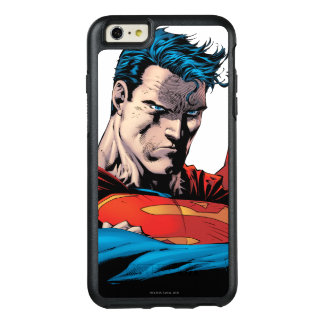 Close up to face OtterBox iPhone 6/6s plus case