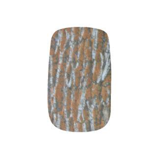 Close Up Tree Trunk Minx Nail Art
