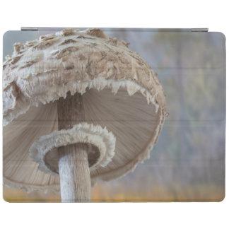 Close-Up Underside Of Mushroom iPad Cover