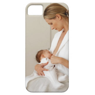 close up view of a baby (6-12 months) case for the iPhone 5