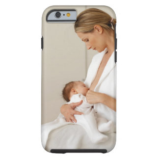 close up view of a baby (6-12 months) tough iPhone 6 case
