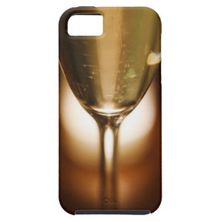 Close-up view of champagne glass iPhone 5 cases