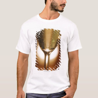 Close-up view of champagne glass T-Shirt