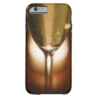 Close-up view of champagne glass tough iPhone 6 case