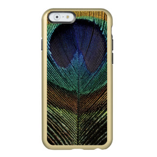 Close up view of eyespot on male peacock feather incipio feather® shine iPhone 6 case