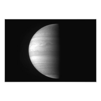 Close-up view of the planet Jupiter Photo Print