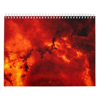 Close Up View of the Rosette Nebula Caldwell 49 Calendars