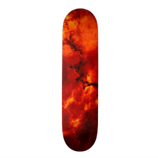 Close Up View of the Rosette Nebula Caldwell 49 Skateboard
