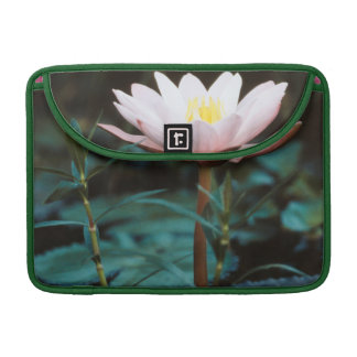 Close-Up view of Water Lily at Inle Lake Sleeve For MacBook Pro