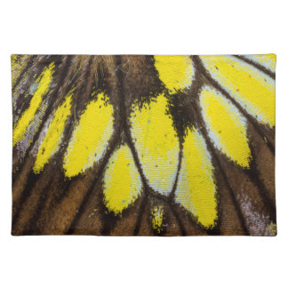 Close-up Wing Pattern of Tropical Butterfly Placemat