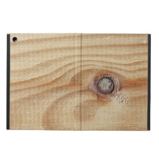 Close up wood texture case for iPad air