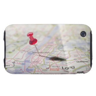 closed 050 maps maps map pins tough iPhone 3 case
