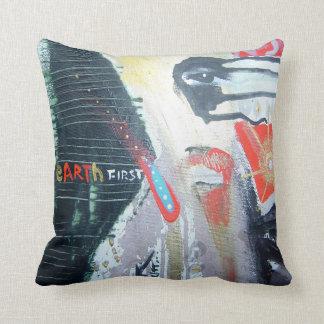 closed eyes at night cushion