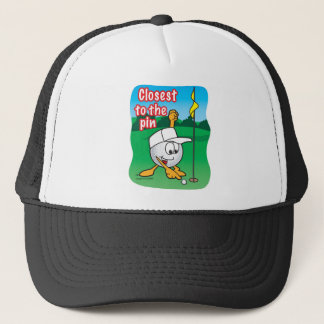 Closest To The Pin Golf Tournament Hole Prize Trucker Hat