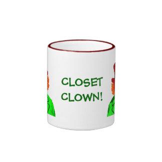 CLOSET Clown Ceramic Mug