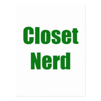 Closet Nerd Postcard