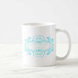 Closet of Free Samples Blue Line Mugs