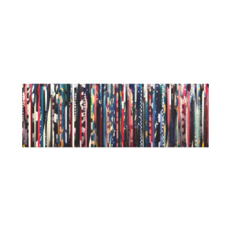 Closet Space Stretched Canvas Print
