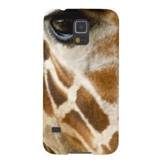 Closeup Giraffe Face Wild Animals Nature Photo Samsung Galaxy Nexus Case