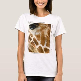 Closeup Giraffe Face Wild Animals Nature Photo T-Shirt