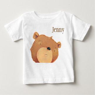 CloseUp of Big Brown Bear Baby T-Shirt