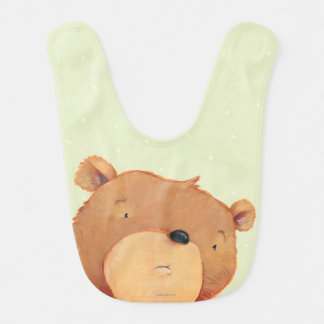 CloseUp of Big Brown Bear Bib