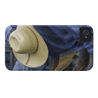 Closeup of Boots & Hat iPhone 4 Case