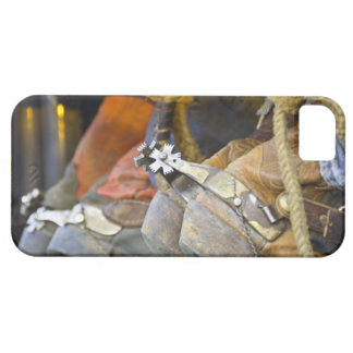 Closeup of Boots & Spurs 2 Case For The iPhone 5