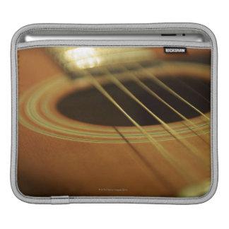 Closeup of Guitar iPad Sleeve
