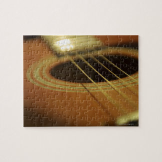 Closeup of Guitar Jigsaw Puzzle