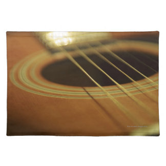 Closeup of Guitar Placemat