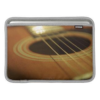 Closeup of Guitar Sleeve For MacBook Air