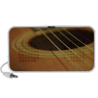 Closeup of Guitar iPhone Speakers