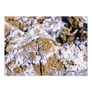 Closeup, Salt Flats Custom Invitation