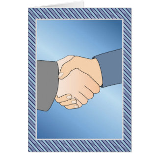 Closing Business Deal Greeting Card