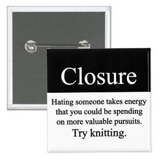Closure Button