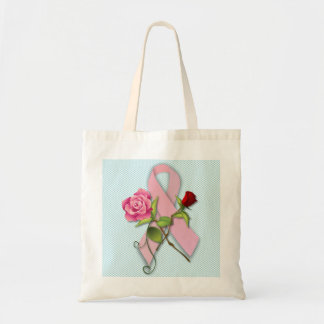 Closure for the Breast Cancer Survivor Budget Tote Bag
