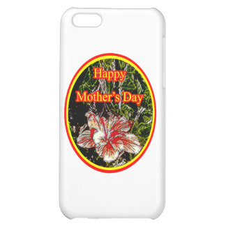 Cloth Hibiscus Happy Mother Day 2 o The MUSEUM Zaz iPhone 5C Cover