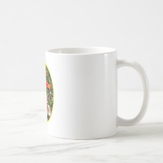 Cloth Hibiscus Happy Mother Day o Yellow The MUSEU Coffee Mugs