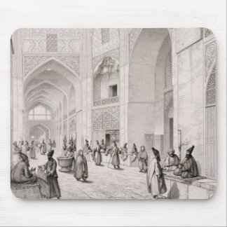 Cloth Market, in Isfahan, from 'Voyage Pittoresque Mouse Pad