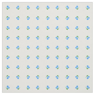 Cloth of the morning glory pattern fabric