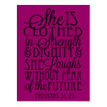 Clothed in Strength & Dignity