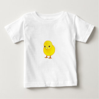 Clothes-Baby T-Shirt-Animals-Yellow Baby Chick Baby T-Shirt