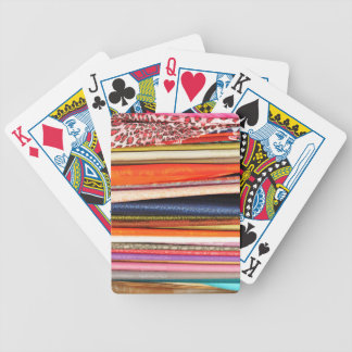 Clothes Bicycle Playing Cards