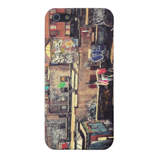 Clotheslines and Graffiti Cover For iPhone 5/5S