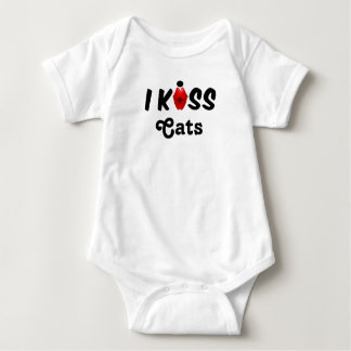 Clothing Baby I Kiss Cats Baby Bodysuit