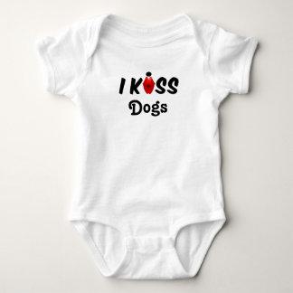 Clothing Baby I Kiss Dogs Baby Bodysuit