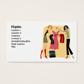 Clothing Business Cards