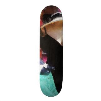 Clothing For Sale at Flea Market Skateboard Deck